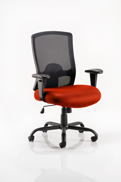 Picture of Office Chair Company Portland Hd Bespoke Colour Seat Pimento