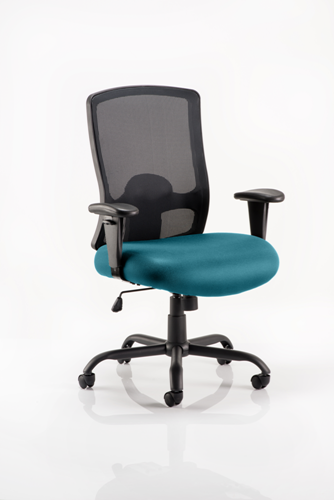 Picture of Office Chair Company Portland Hd Bespoke Colour Seat Kingfisher