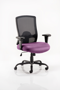 Picture of Office Chair Company Portland Hd Bespoke Colour Seat Purple