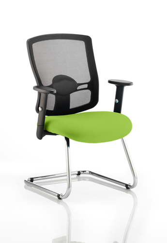 Picture of Office Chair Company Portland Cantilever Bespoke Colour Seat Swizzle