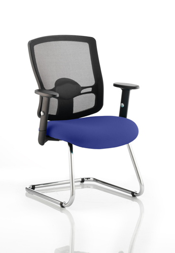 Picture of Office Chair Company Portland Cantilever Bespoke Colour Seat Serene
