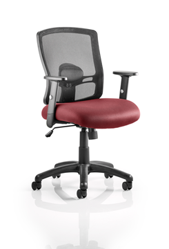 Picture of Office Chair Company Portland Bespoke Colour Seat Chilli