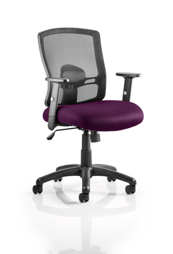 Picture of Office Chair Company Portland Bespoke Colour Seat Purple