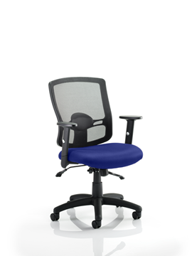 Picture of Office Chair Company Portland II With Bespoke Colour Seat Serene