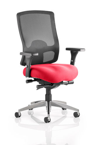 Picture of Office Chair Company Regent Bespoke Colour Seat Cherry