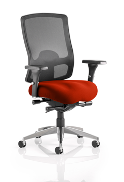 Picture of Office Chair Company Regent Bespoke Colour Seat Pimento