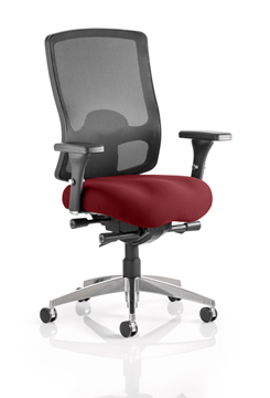 Picture of Office Chair Company Regent Bespoke Colour Seat Chilli