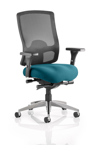 Picture of Office Chair Company Regent Bespoke Colour Seat Kingfisher