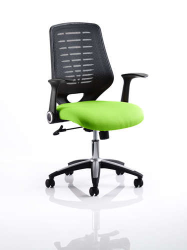 Picture of Office Chair Company Relay Bespoke Colour Black Back Swizzle