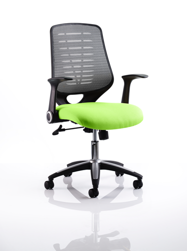 Picture of Office Chair Company Relay Bespoke Colour Silver Back Swizzle