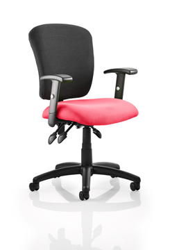 Picture of Office Chair Company Toledo Bespoke Colour Seat Cherry