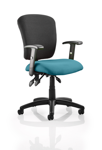 Picture of Office Chair Company Toledo Bespoke Colour Seat Kingfisher