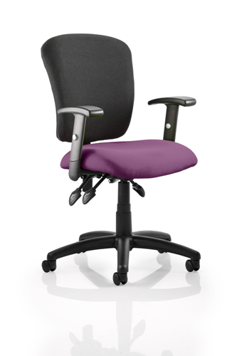 Picture of Office Chair Company Toledo Bespoke Colour Seat Purple