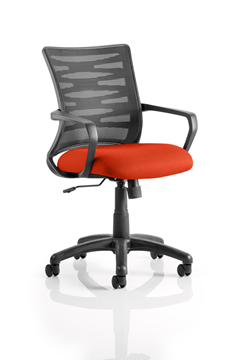 Picture of Office Chair Company Vortex Bespoke Colour Seat Pimento