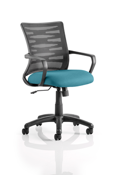 Picture of Office Chair Company Vortex Bespoke Colour Seat Kingfisher