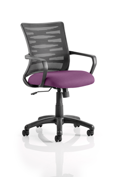 Picture of Office Chair Company Vortex Bespoke Colour Seat Purple