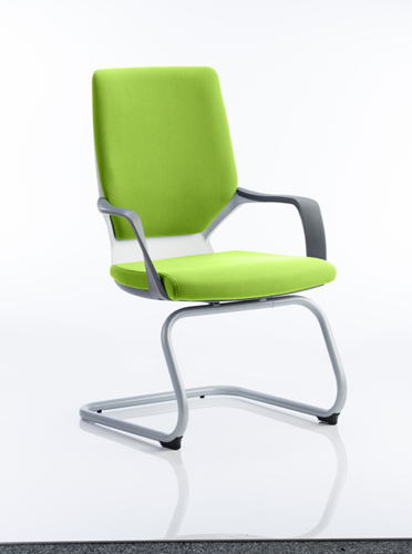 Picture of Office Chair Company Xenon White Visitor Bespoke Colour Swizzle