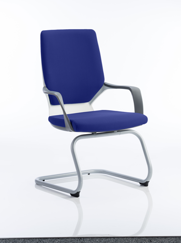 Picture of Office Chair Company Xenon White Visitor Bespoke Colour Serene