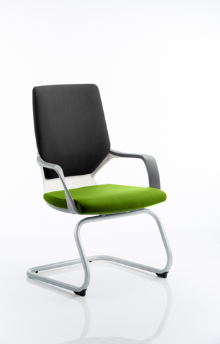 Picture of Office Chair Company Xenon White Visitor Bespoke Colour Seat Swizzle
