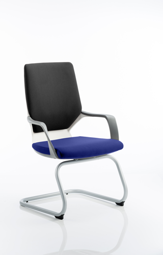 Picture of Office Chair Company Xenon White Visitor Bespoke Colour Seat Serene