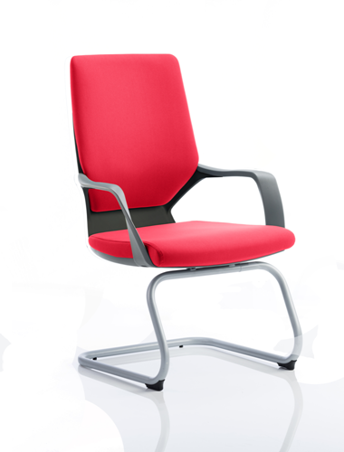 Picture of Office Chair Company Xenon Black Visitor Bespoke Colour Cherry
