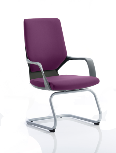 Picture of Office Chair Company Xenon Black Visitor Bespoke Colour Purple