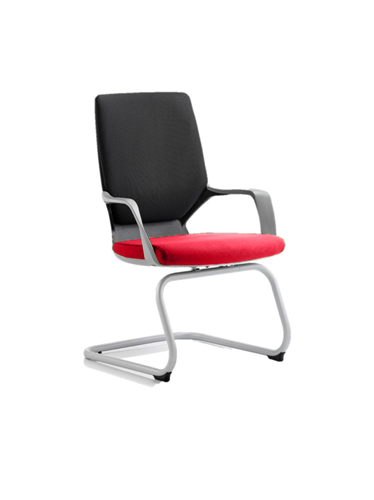 Picture of Office Chair Company Xenon Black Visitor Bespoke Colour Seat Cherry