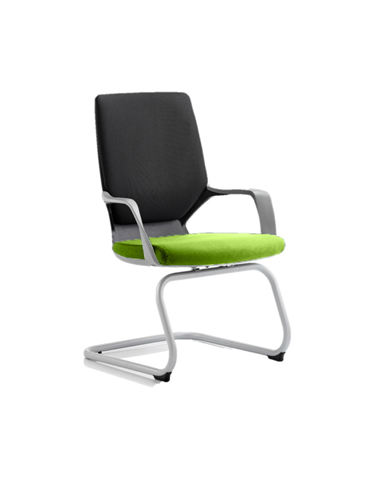 Picture of Office Chair Company Xenon Black Visitor Bespoke Colour Seat Swizzle