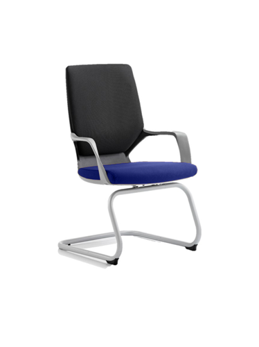Picture of Office Chair Company Xenon Black Visitor Bespoke Colour Seat Serene