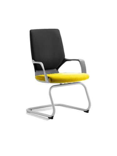 Picture of Office Chair Company Xenon Black Visitor Bespoke Colour Seat Sunset