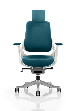 Picture of Office Chair Company Zure Fully Bespoke Colour  Kingfisher