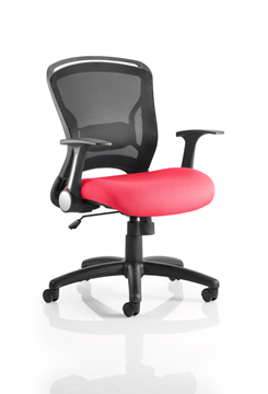 Picture of Office Chair Company Zeus Bespoke Colour Seat Cherry