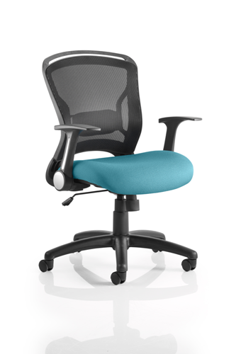 Picture of Office Chair Company Zeus Bespoke Colour Seat Kingfisher