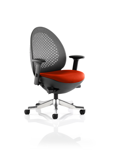 Picture of Office Chair Company Revo Bespoke Colour Seat In Pimento