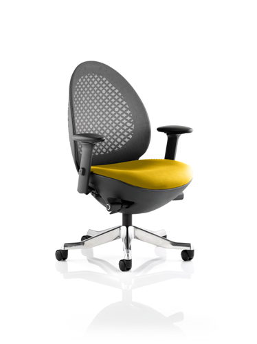 Picture of Office Chair Company Revo Bespoke Colour Seat In Sunset