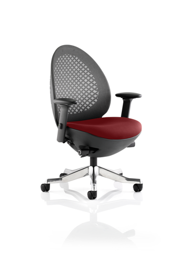 Picture of Office Chair Company Revo Bespoke Colour Seat In Chilli