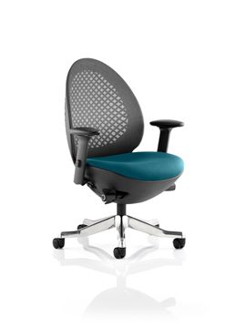Picture of Office Chair Company Revo Bespoke Colour Seat In Kingfisher