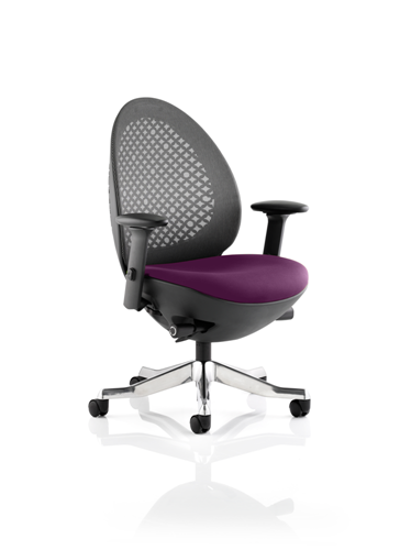 Picture of Office Chair Company Revo Bespoke Colour Seat In Purple