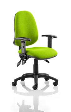 Picture of Office Chair Company Eclipse III  Lever Task Operator Chair Bespoke With Height Adjustable Arms In Swizzle