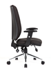 Picture of Office Chair Company Chiro Task Operators Chair Black With Arms High Back