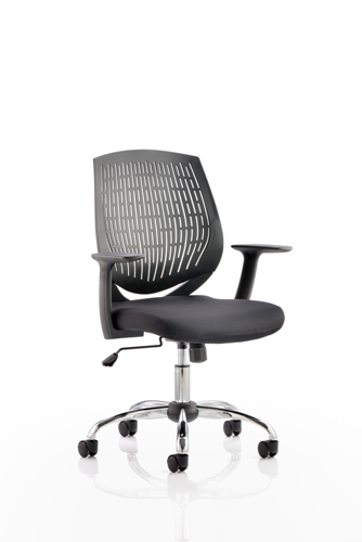 Picture of Office Chair Company Dura Task Operator Chair Black With Arms