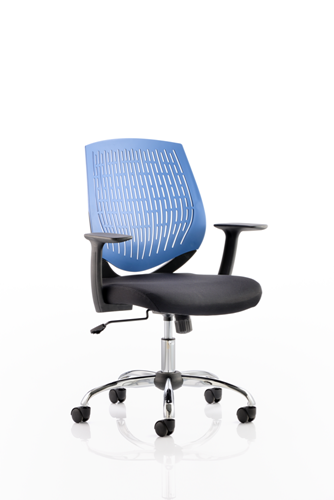 Picture of Office Chair Company Dura Task Operator Chair Blue With Arms