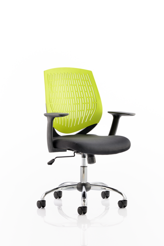 Picture of Office Chair Company Dura Task Operator Chair Green With Arms