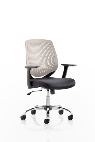 Picture of Office Chair Company Dura Task Operator Chair Grey With Arms