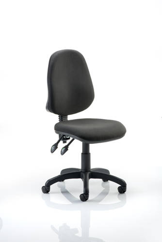 Picture of Office Chair Company Eclipse II Lever Task Operator Chair Black Without Arms