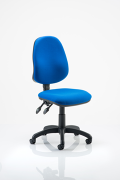 Picture of Office Chair Company Eclipse II Lever Task Operator Chair Blue Without Arms