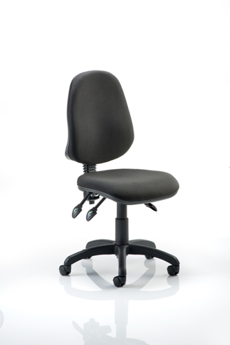 Picture of Office Chair Company Eclipse III Lever Task Operator Chair Black Without Arms
