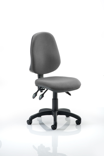 Picture of Office Chair Company Eclipse III Lever Task Operator Chair Charcoal Without Arms