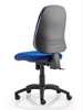 Picture of Office Chair Company Eclipse XL III Lever Task Operator Chair Blue Without Arms