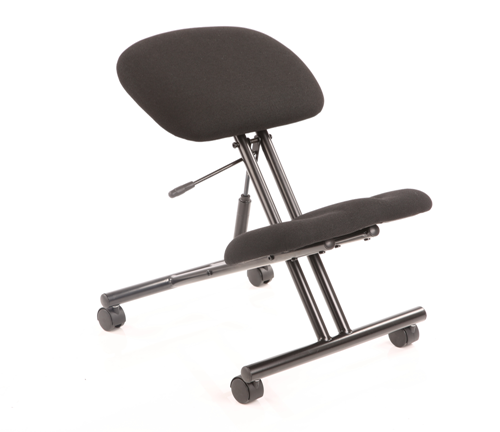 Picture of Office Chair Company Kneeling Stool Task Operator Black Fabric Black Frame